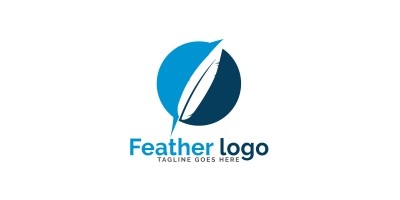 Feather Logo Design