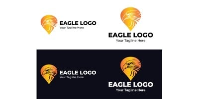 Eagle Logo Design Template