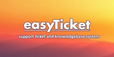 easyTicket - Support Ticket And Knowledgebase Scri
