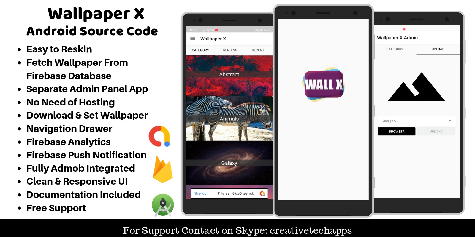 Wallpaper X - Android App Source Code