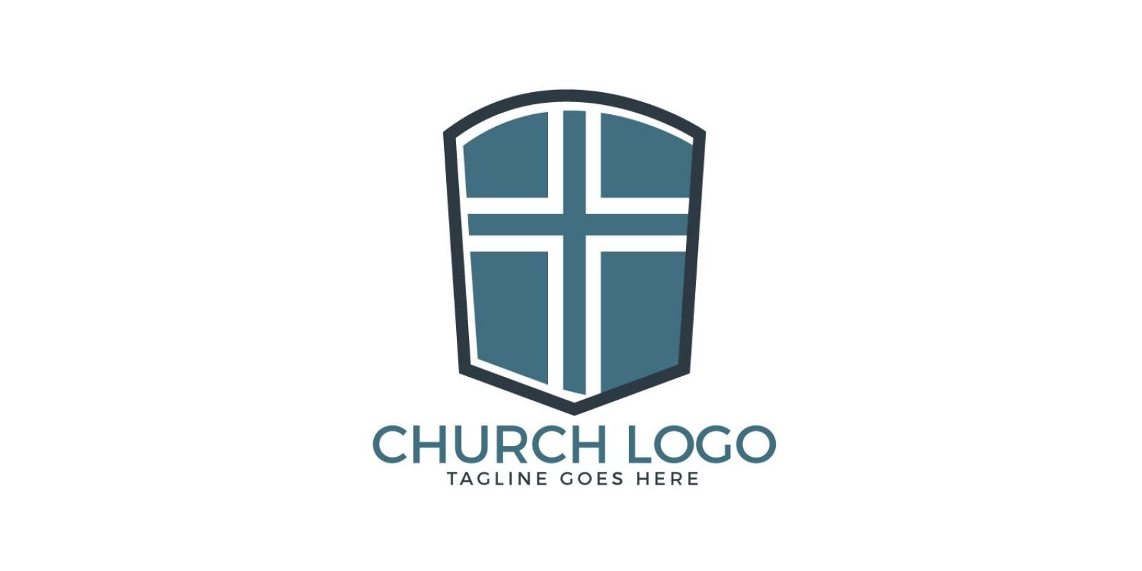 Cross Vector Logo Design