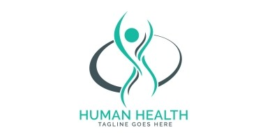 Human Health Care Logo Design