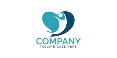 People Heart Logo Design