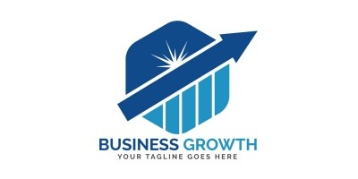 Business Growth Logo Design