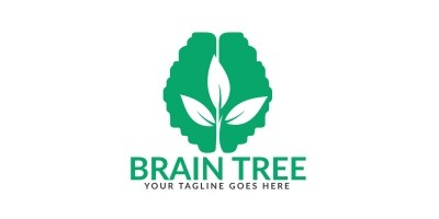 Brain Tree Logo Design