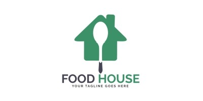 Food House Logo Design