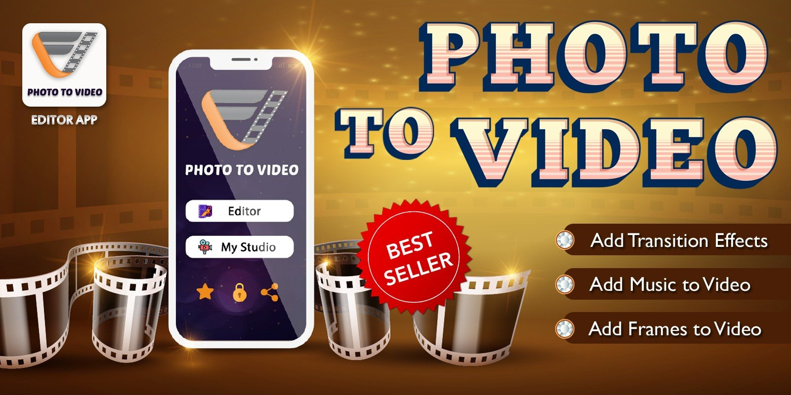 Photo To Video App - Android Source Code