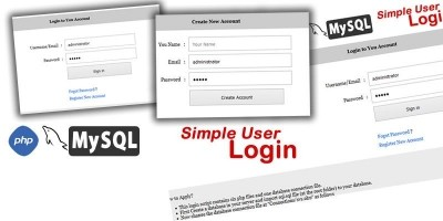Simple User Login - PHP Script