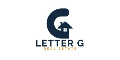 Letter G Home Logo Design