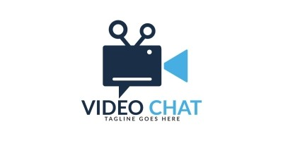 Video Chat Logo Design