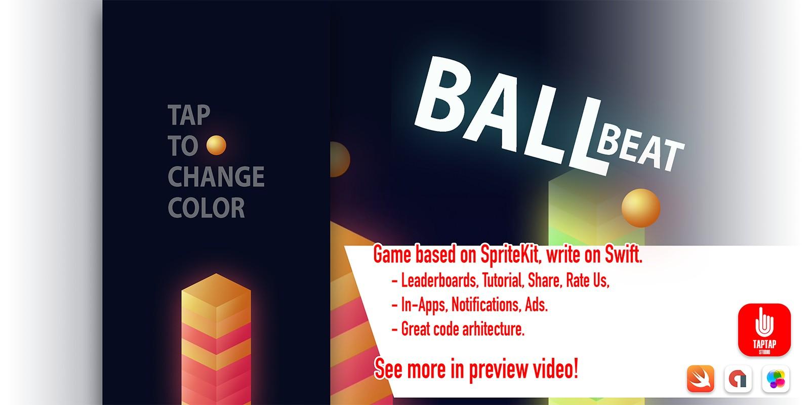 Ball Beat - iOS Source Code