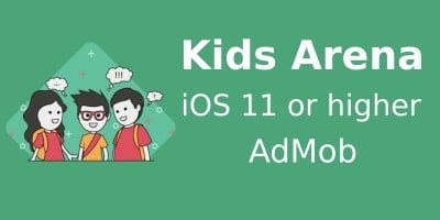 Kids Arena - iOS Source Code