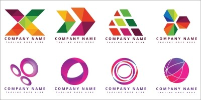 16 Beautiful Colorful Vector Logo Design Templates