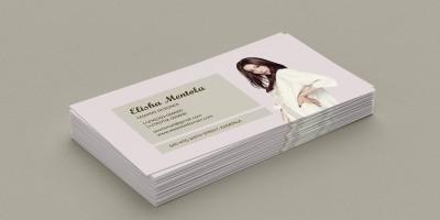 Simple Fashion Business Card