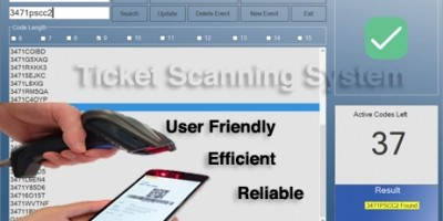 Ticket Scanning System C#