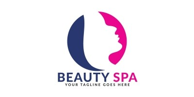 Beauty Spa Vector Logo Design