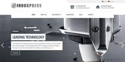 IndusPress - Business WordPress Theme