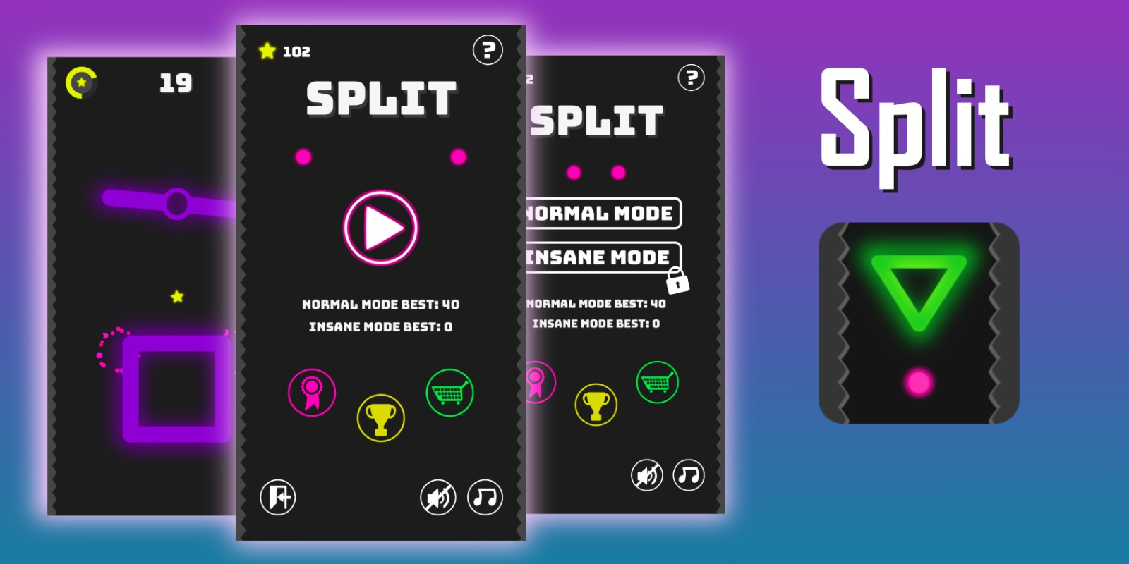 Split - Unity Game Source Code