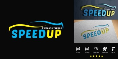 Speedup Logo Template