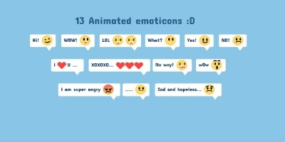 13 Fun Emoji Face Animations CSS