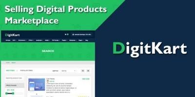 DigitKart Multivendor Digital Products Marketplace