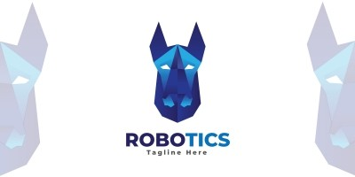Robotics Logo  Template
