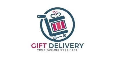Gift Deliver Logo Design