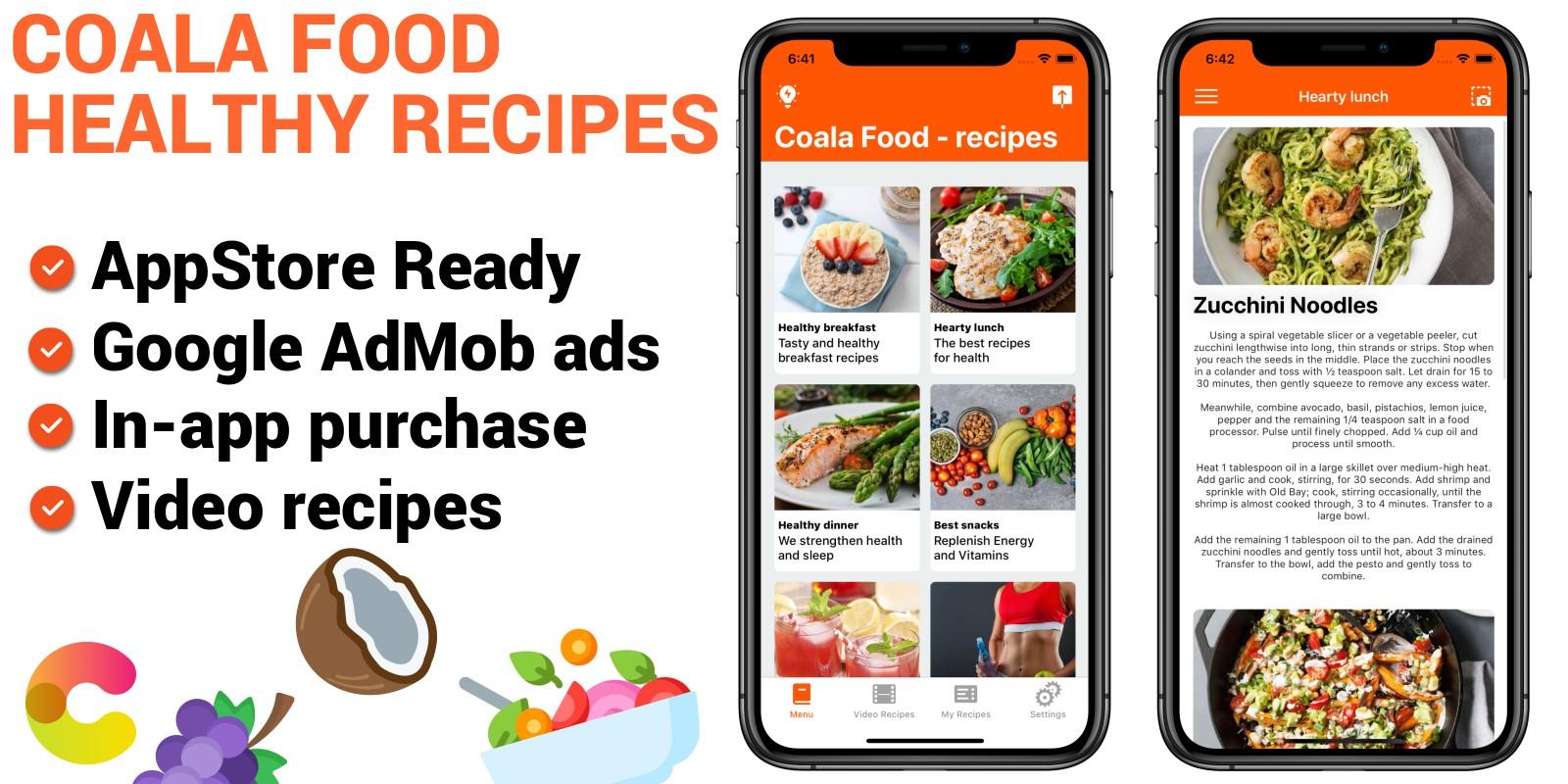 Coala Food - iOS Food Recipes App