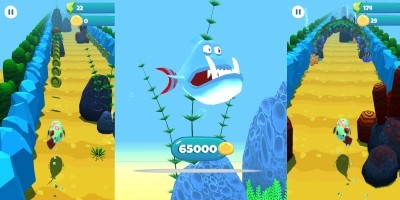 Super Swim Fish - Unity Game Source Code