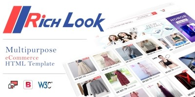 Richlook - Multipurpose  eCommerce HTML Template