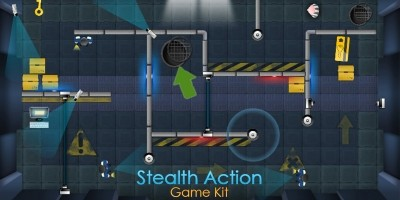 Stealth Action - Unity Game Framework