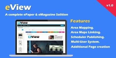 eView  - ePaper And eMagazine Solution PHP Script