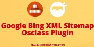 Google Bing XML Sitemap Osclass Plugin