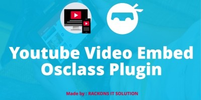 Youtube Video Embed Osclass Plugin