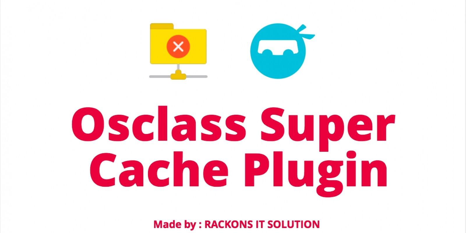Osclass Super Cache Plugin