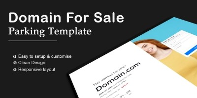 Domain For Sale HTML Website Template