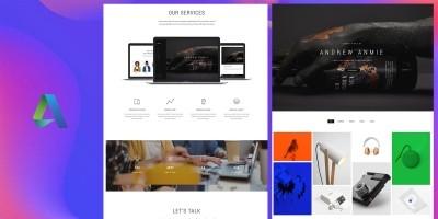 Anmie - Responsive HTML5 Portfolio