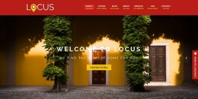 Locus - Real Estate HTML Template
