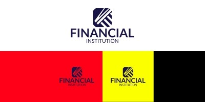 Finance Logo Design Template