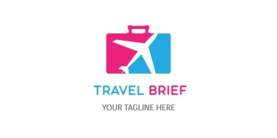 Unique Travel Logo Design
