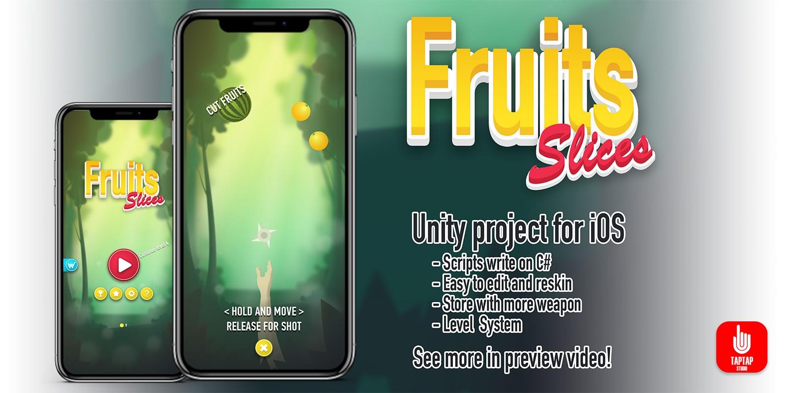 Fruit Slices - iOS Source Code