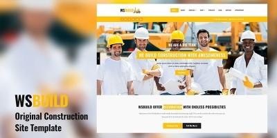 WS Build -  Construction Website HTML Template