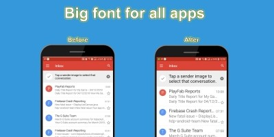 Big font - Android Source Code