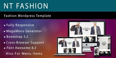 NT Fashion - Fashion Wordpress Theme