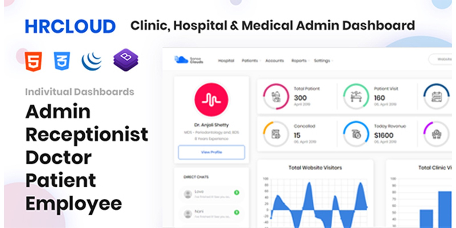 HR-Clinic - Clinic Hospital Medical HTML Template