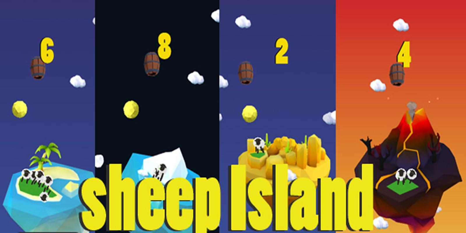 Sheep Island - Buildbox Template
