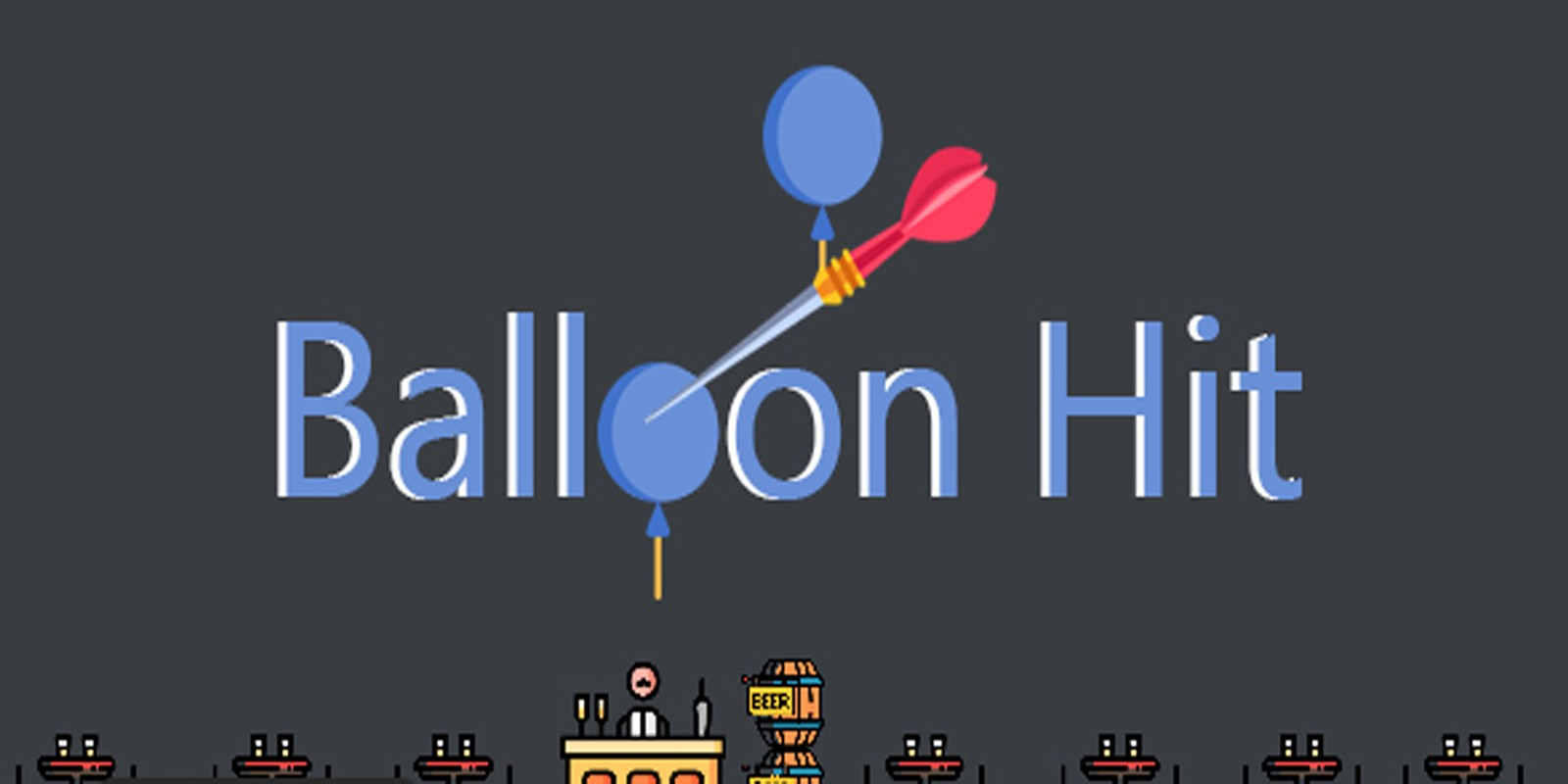 Balloon Hit - Buildbox Template