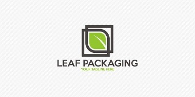 Leaf Packaging - Logo Template