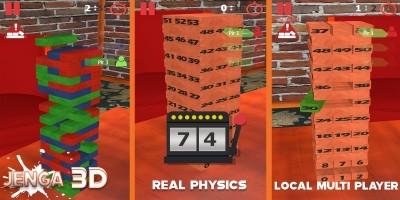 Jenga 3D - Unity 3D Complete Project