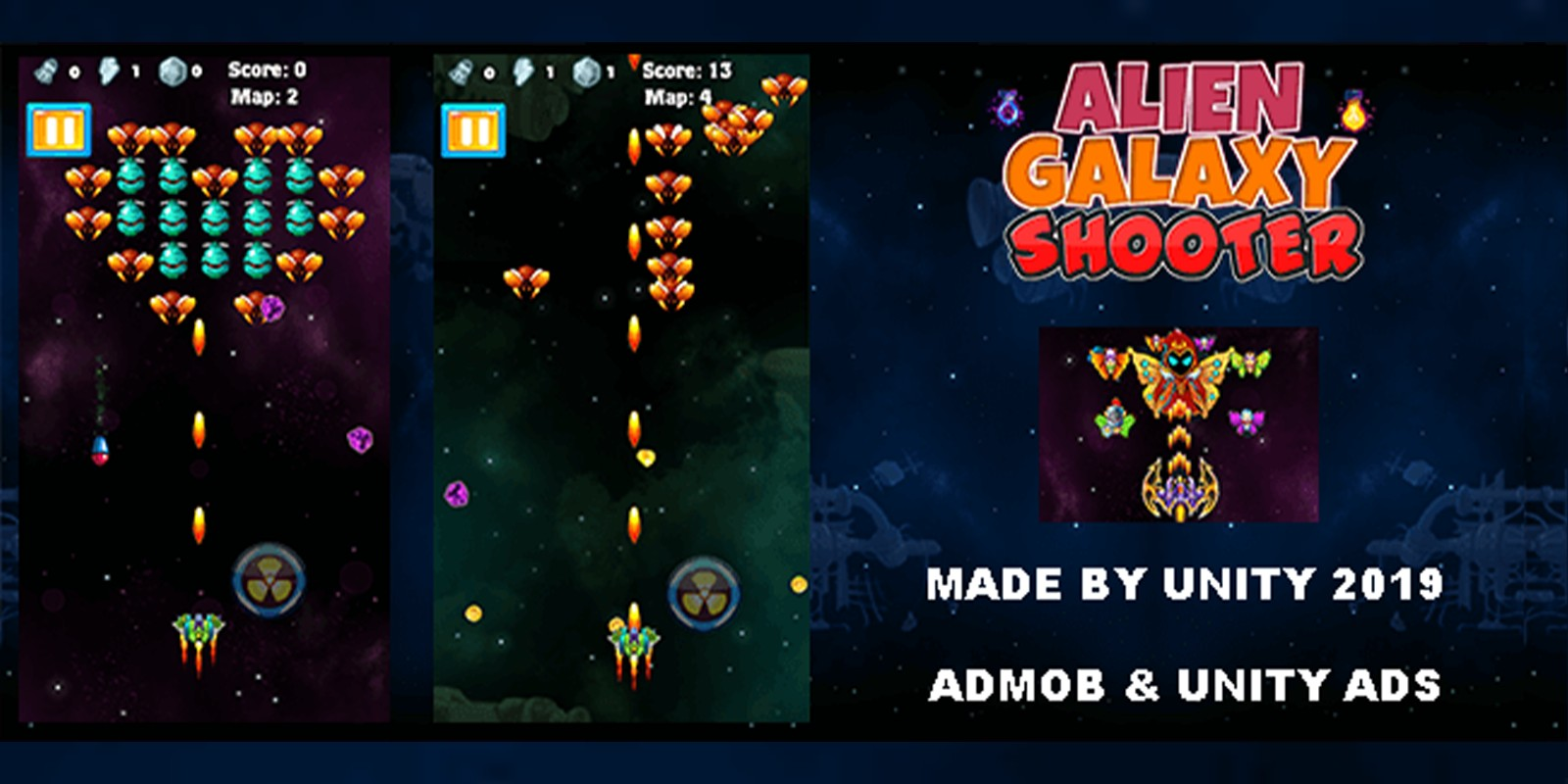 Alien Galaxy Shooter - Unity Project